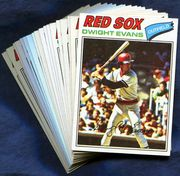 1977 Topps Boston Red Sox Baseball Card Singles