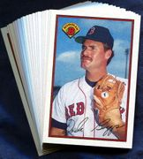 1989 Bowman Boston Red Sox Baseball Card Singles