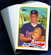 1989 Topps Atlanta Braves Baseball Card Singles
