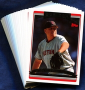 2006 Topps Boston Red Sox Baseball Card Singles