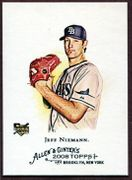 2008 Topps Allen and Ginter #117 Jeff Niemann Baseball Card - Tampa Bay Rays