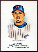 2008 Topps Allen and Ginter #118 Geovany Soto Baseball Card - Chicago Cubs