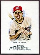 2008 Topps Allen and Ginter #271 Paul Lo Duca Baseball Card - Washington Nationals