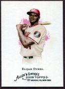 2008 Topps Allen and Ginter #292 Elijah Dukes Baseball Card - Washington Nationals