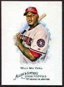 2008 Topps Allen and Ginter #321 Wily Mo Pena SP Baseball Card - Washington Nationals