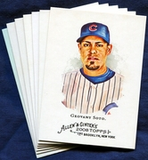 2008 Topps Allen and Ginter Chicago Cubs Baseball Card Singles