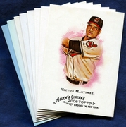 2008 Topps Allen and Ginter Cleveland Indians Baseball Card Singles