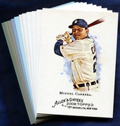 2008 Topps Allen and Ginter Detroit Tigers Baseball Card Singles