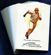 2008 Topps Allen and Ginter Los Angeles Angels Baseball Card Singles