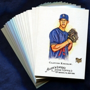 2008 Topps Allen and Ginter Los Angeles Dodgers Baseball Card Singles