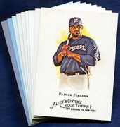 2008 Topps Allen and Ginter Milwaukee Brewers Baseball Card Singles