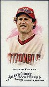 2008 Topps Allen and Ginter Mini #162 Austin Kearns Baseball Card - Washington Nationals