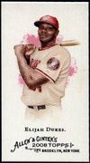 2008 Topps Allen and Ginter Mini #292 Elijah Dukes Baseball Card - Washington Nationals