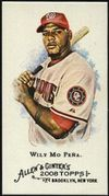 2008 Topps Allen and Ginter Mini #321 Wily Mo Pena Baseball Card - Washington Nationals