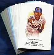 2008 Topps Allen and Ginter New York Mets Baseball Card Singles
