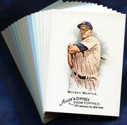 2008 Topps Allen and Ginter New York Yankees Baseball Card Singles