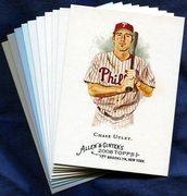 2008 Topps Allen and Ginter Philadelphia Phillies Baseball Card Singles