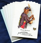 2008 Topps Allen and Ginter Pittsburgh Pirates Baseball Card Singles
