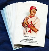 2008 Topps Allen and Ginter St. Louis Cardinals Baseball Card Singles