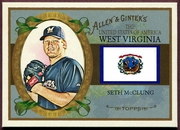 2008 Topps Allen and Ginter United States #US48 Seth McClung Baseball Card - Milwaukee Brewers