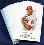 2008 Topps Allen and Ginter Washington Nationals Baseball Card Singles