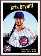 2018 Topps Archives #100 Kris Bryant Baseball Card - Chicago Cubs