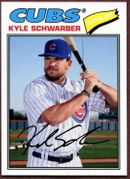 2018 Topps Archives #111 Kyle Schwarber Baseball Card - Chicago Cubs