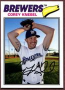 2018 Topps Archives #199 Corey Knebel Baseball Card - Milwaukee Brewers