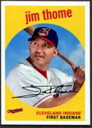 2018 Topps Archives #60 Jim Thome Baseball Card - Cleveland Indians