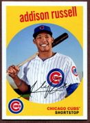 2018 Topps Archives #62 Addison Russell Baseball Card - Chicago Cubs