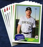 2018 Topps Archives Colorado Rockies Baseball Card Singles