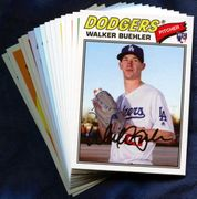 2018 Topps Archives Los Angeles Dodgers Baseball Card Singles