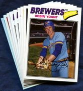 2018 Topps Archives Milwaukee Brewers Baseball Card Singles