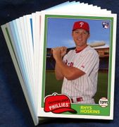 2018 Topps Archives Philadelphia Phillies Baseball Card Singles