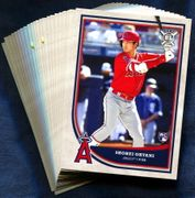 2018 Topps Big League Los Angeles Angels Baseball Card Singles