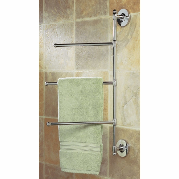 3 Arm Wall Mount Towel Bar