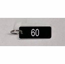 Address Number Keychain With Same Number And Color As Your Address Sign