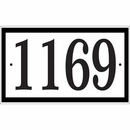 Address Plate With Large Numbers