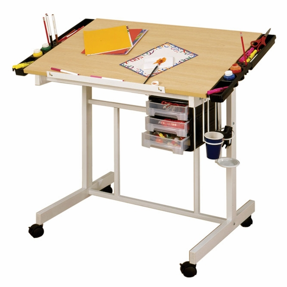 Adjustable Top Deluxe Craft Station