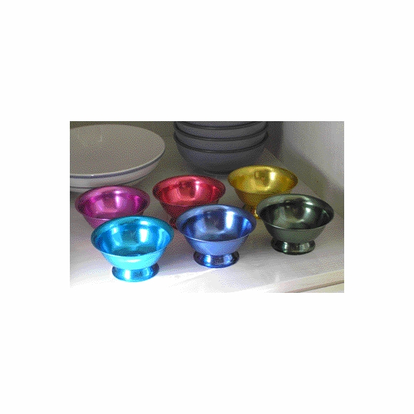 Aluminum Ice Cream Bowl Set