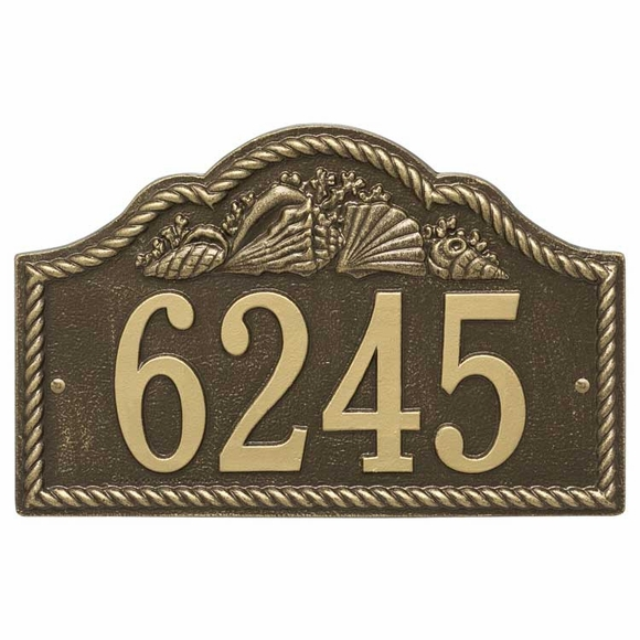 Arch Address Number Plaque