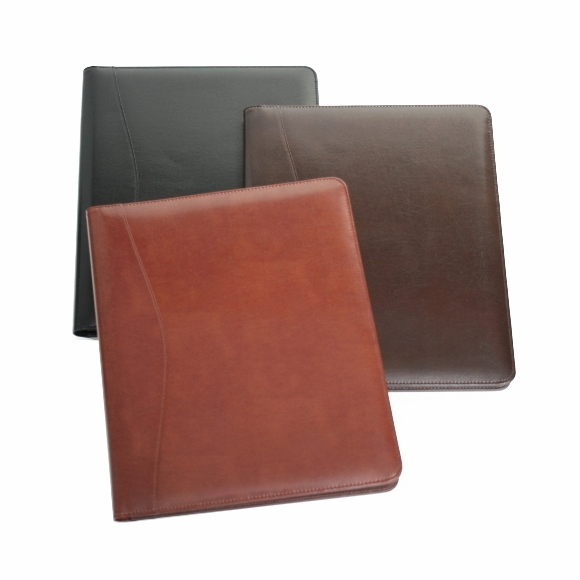 Leather Binder Pad Holder