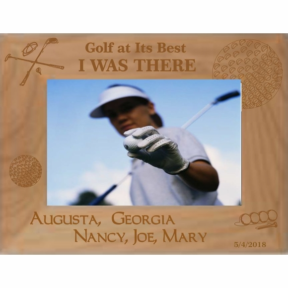 Augusta Golf Personalized Picture Frame