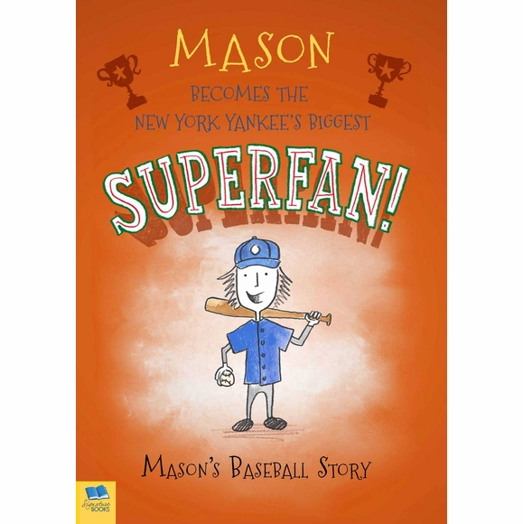 Baseball  Superfan  Personalized Book for Kids