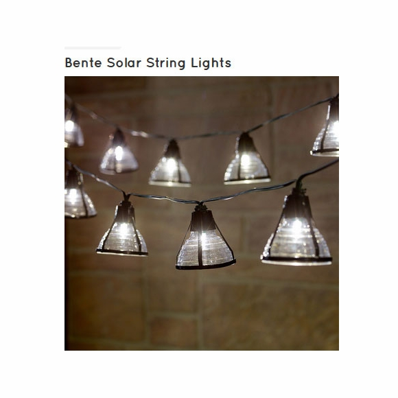 Bente Solar String Lights