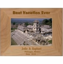 Custom Engraved Best Vacation Ever Personalized Picture Frame
