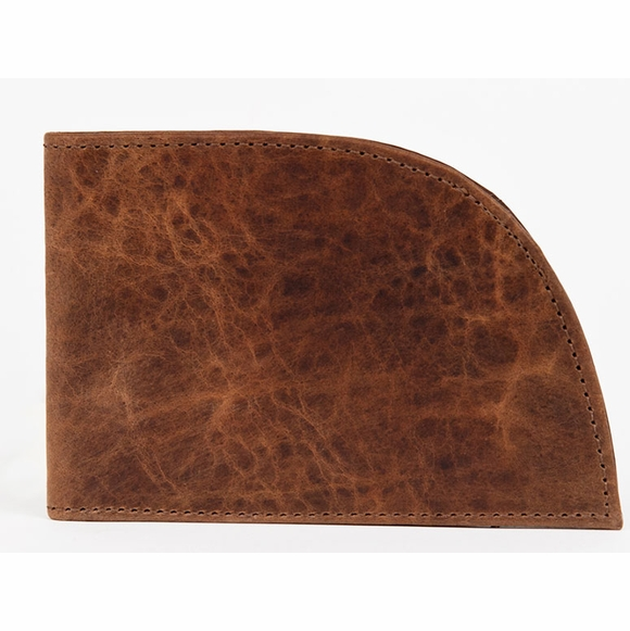Bison Leather Rogue Wallet