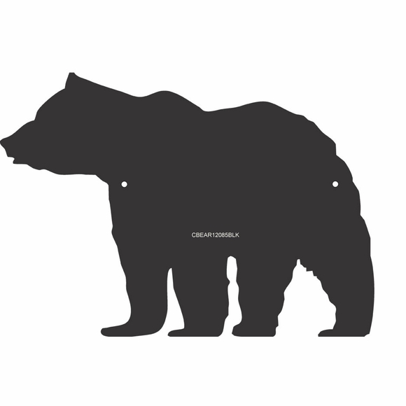 Black Bear Silhouette Wall Decor