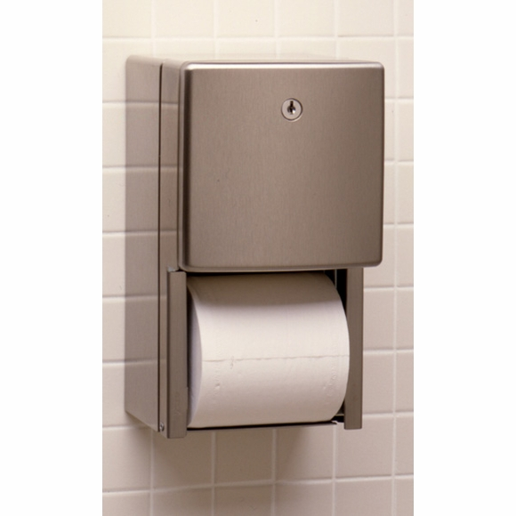 Bobrick B-4388 Recessed Toilet Tissue Dispenser