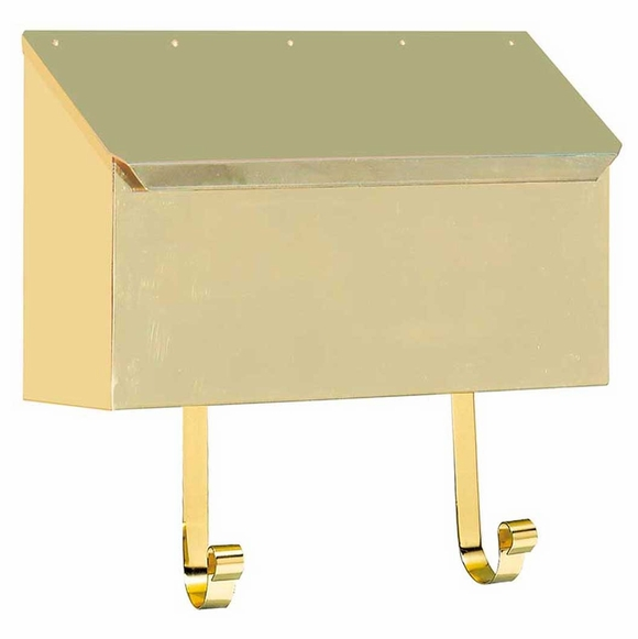 Brass Horizontal Mailbox